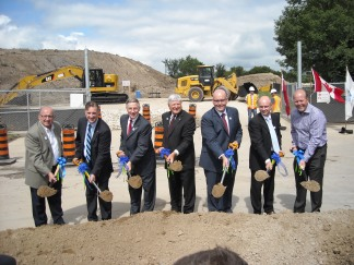 Breaking ground on the ION project
